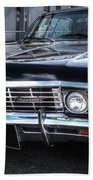 Impala - Supernatural Beach Towel