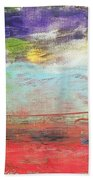 Impression Collection I In Sight Of Land  Beach Towel