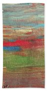 Impression Collection I Mountain Sunset Beach Towel