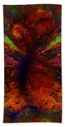 Impressionist Butterfly Beach Towel