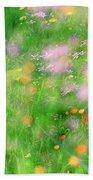 Impressionistic Blossom 5 At Britain Park Beach Towel