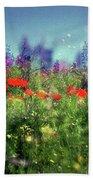 Impressionistic Springtime Beach Towel