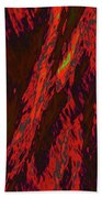 Impressions Of A Burning Forest 10 Beach Towel