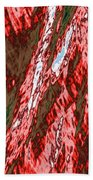 Impressions Of A Burning Forest 12 Beach Towel