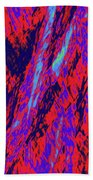 Impressions Of A Burning Forest 16 Beach Towel