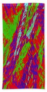 Impressions Of A Burning Forest 17 Beach Towel