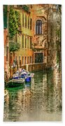 Impressions Of Venice Beach Towel