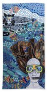 In Dreams Of Ricky Bobbie And Me In Cayman Islands Beach Towel