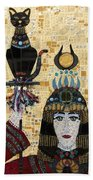 In Dreams Of Ricky Bobbie And Me In Egypt Beach Towel