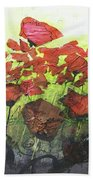 Fields Of Poppies Beach Towel