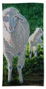 In Sheep's Clothing Beach Towel