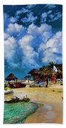 In The Cloud Beach Towel