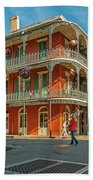 In The French Quarter - 3 Beach Towel