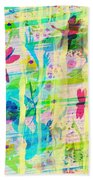 In The Garden Beach Towel