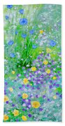 In The Meadow Beach Towel
