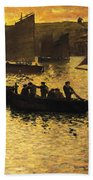 In The Port Beach Towel by Charles Cottet