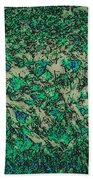 In The Stillness Of The Pond Beach Towel