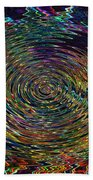 In The Whirl Of Light Beach Towel