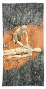 In Your Hands Beach Towel