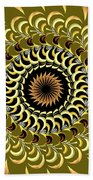 Incendia Kaleidoscope Beach Towel