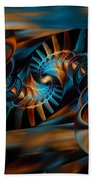 Inception Abstract Beach Towel