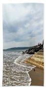 Incoming Tide - Charmouth Beach Towel