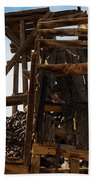 Independence Gold Mine Ruins Beach Towel