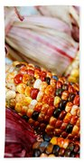 Indian Corn Beach Towel