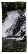 Indian Creek Falls 1 Beach Towel