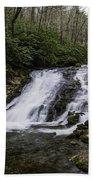 Indian Creek Falls 2 Beach Towel