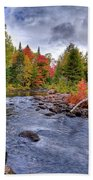Indian Rapids Footbridge Beach Towel