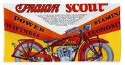 Indian Scout Beach Sheet