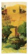 Indian Village 1917 Beach Towel