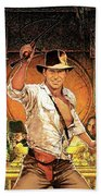 Indiana Jones Raiders Of The Lost Ark 1981 Beach Sheet