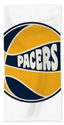 Indiana Pacers Retro Shirt Beach Towel