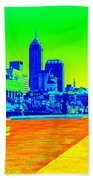 Indianapolis Heat Tone Beach Towel