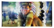 Indians Invade Thailand. Cowboys Too Beach Sheet