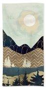 Indigo Forest Beach Towel