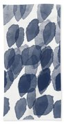Indigo Rain Custom Size Beach Towel