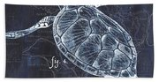 Indigo Verde Mar 2 Beach Towel