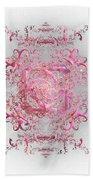 Indulgent Pink Lace Beach Towel