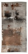 Industrial Abstract - 01t02 Beach Towel