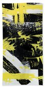Industrial Abstract Painting I Beach Towel