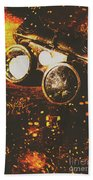 Industry Of Artistic Creations Beach Towel