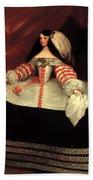 Inez De Zuniga - Countess Of Monterrey Beach Towel