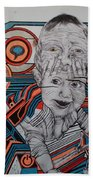 Infections Beach Towel