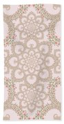 Infinite Lily In Pastels Beach Towel