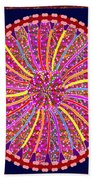 Infinity Star Flower An Abstract Fineart Expression By Navinjoshi At Fineartamerica.  Colorful Fun Beach Towel
