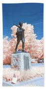 Infrared Memorial Beach Towel