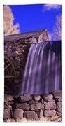 Infrared Mill 1 Beach Towel